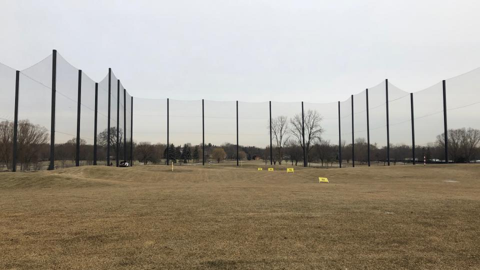 Driving Range Net Replaced - Range Ready for Season Opening!