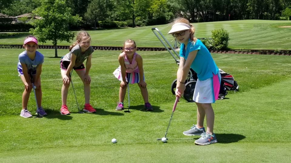 Sugar Creek Jr. Golf Campers!