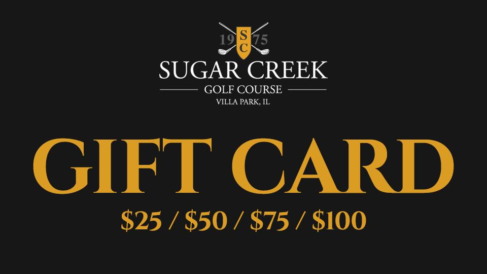 Sugar Creek Golf Course Gift Cards