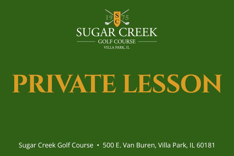 Sugar Creek Private Lesson